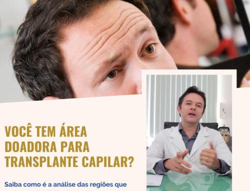 Você tem área doadora para transplante capilar?